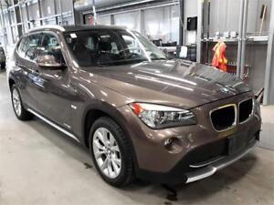 SOLD! SOLD! 2012 BMW X1 28i SUNROOF leather htd PRKING SENSOR