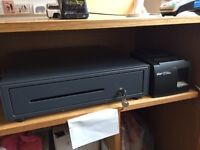 Cash Drawer and Printer
