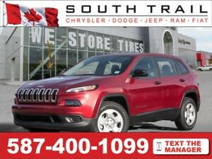 2017 Jeep Cherokee Sport - Call/txt Greg @ (587) 400-0662