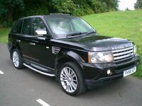 Range Rover Sport 3.6HSE 56rg Exceptional Cond 80k FSH (8no) Cream leather TV/Satnav/Fridge/PSensors