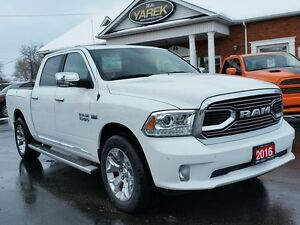 2016 Ram 1500 Limited 4x4, Heated/Vented Seats, Remote Start, RA