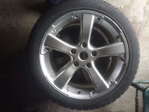 17in 5 x 120in Rims and Tires
