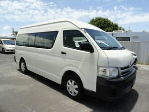 2011 Toyota HiAce KDH223R MY11 Commuter High Roof Super LWB White 4 Speed Automatic Bus West Ballina Ballina Area Preview