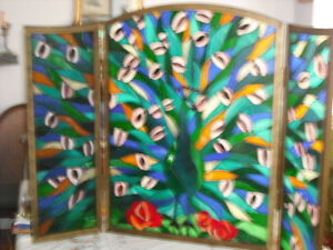 Stain Glass Screen