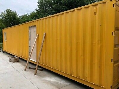 40 Foot Shipping Container Can Finish For Your Needs Or Buy As Is