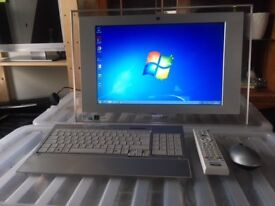 """SONY VAIO ALL IN ONE 19"""" GENUINE WIN7 £120 ONO"""