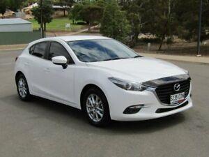 2018 Mazda 3 BN5478 Touring SKYACTIV-Drive White 6 Speed Sports Automatic Hatchback Murray Bridge Murray Bridge Area Preview