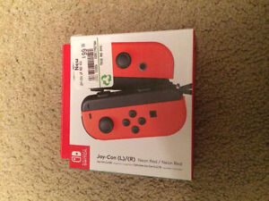 Nintendo Switch Joy-Con (L-R) Neon Red - Left and Right Edition