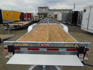 Triple axle Galvanized equipment trailer N&N CANADIAN MADE 21K London Ontario image 5