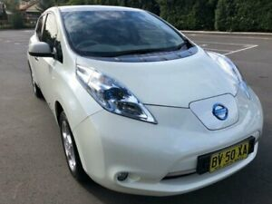 2013 Nissan Leaf ZE0 1 Speed Reduction Gear Hatchback Five Dock Canada Bay Area Preview