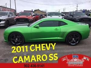 2011 Chevrolet Camaro 2SS Synergy Greem 6 spd Manual