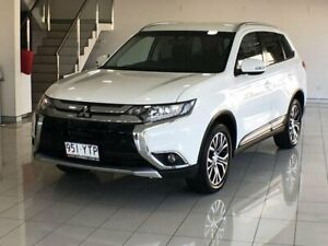 2017 Mitsubishi Outlander ZK MY17 LS 4WD White 6 Speed Constant Variable Wagon Southport Gold Coast City Preview