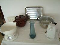 Elegant brown crock- pot by Moira Pottery