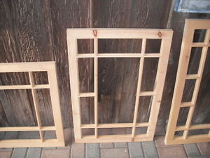 Custom Made Victorian Window Sash