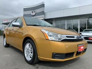 2009 Ford Focus SE AUTO POWER GROUP A/C ONLY 62KM