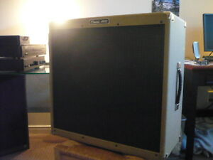 4X10 inch slave speaker cabinet/ Peavy. great condition
