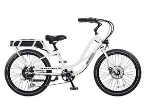 "Pedego Interceptor III, White, Electric Bike, 24"", 48V10AH 500w"