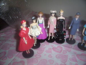 collectable barbie dolls,Jewellery stands