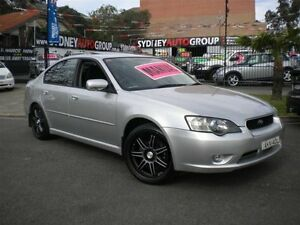 2004 Subaru Liberty MY04 2.5I Safety Silver 5 Speed Manual Sedan Homebush Strathfield Area Preview