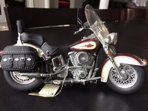 Precision Harley Davison Die Cast Model from Franklin Mint