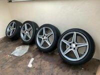 Genuine Mercedes AMG Alloys Alloy Wheels 225/45/18