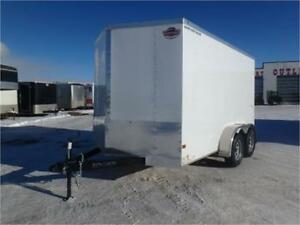 7 X 12 BY WELLS CARGO - LOADED W/OPTIONS FOR ONLY $5,549 TAX IN!