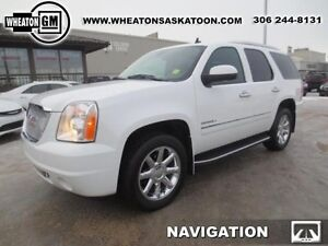 2012 GMC Yukon Denali AWD -PST Paid- Navigation, DVD, Sunroof