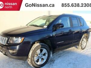 2014 Jeep Compass North 4x4 LEATHER, SUNROOF, HEATED SEATS!!