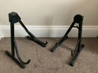 Acoustic and Electric compatible floor stand