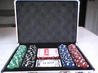 Poker game set de luxe
