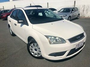 2008 Ford Focus LT 08 Upgrade CL White 4 Speed Automatic Sedan