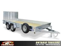 2015 Sure-Trac Galvanized High Side Utility