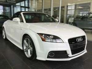 2013 Audi TT PREMIUM S-LINE, POWER SOFT TOP, AWD
