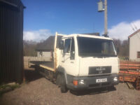 MAN diesel 7.5tonne lorry, full years test.