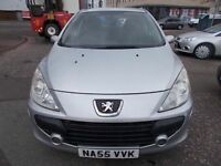 PEUGEOT 307 1.6 DIESEL 5 DOOR HATCHBACK 55 REG,, CHEAP TO RUN,, MOT JANUARY 2019