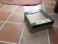 porcelain floor tiles- terracotta. 18 tiles
