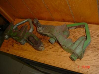 John Deere 3020-3010-4000 Tractor 3-point 4-inch Beam Brackets Jd 4020-4010