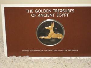 Golden Treasures of Egypt medal