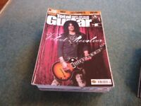 Large collection of Guitar magazines inc DVDs