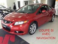 2012 Honda Civic Coupé Si  Coupé NAVIGATION/TOIT OUVRANT/ MAGS E