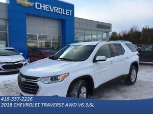 2018 Chevrolet Traverse LT tissu