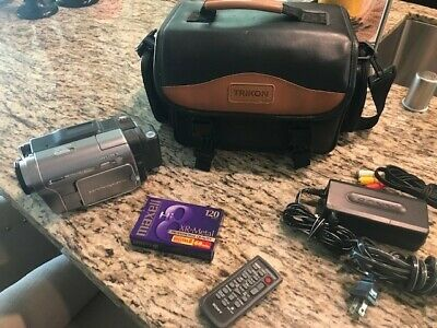Sony DCR-TRV480 Digital8 HI8 8mm Video8 HI 8 Camcorder VCR Player Video Transfer