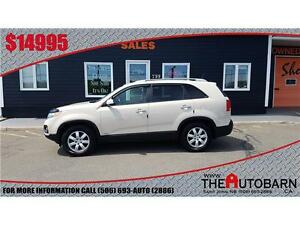 2011 KIA SORENTO LX - 6cyl automatic, cruise - bluetooth