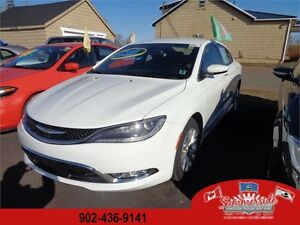 2016 Chrysler 200 C LEATHER 3.6L V6 LOADED SAVE OVER $8,000