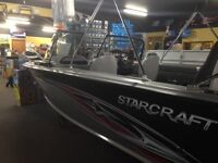 2014 & 2013 Starcraft Fishing Boats selling at cost