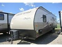 Great open toyhauler. 26RR Call Tristan 780-975-8034