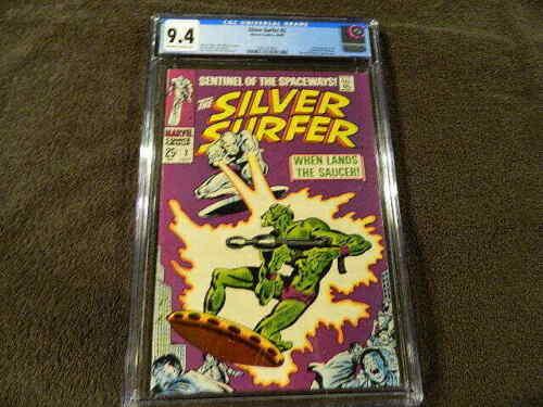 1968 MARVEL Comics SILVER SURFER #2 Key 1st Ap. BROTHERHOOD Of BADOON - CGC 9.4