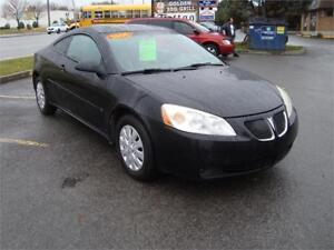 2006 Pontiac G6 GT Coupe Loaded !