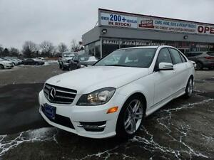 2014 Mercedes-Benz C300,ECO,NAVI,REAR CAMERA 1-OWNER,NO ACCIDENT