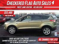 2013 Ford Escape SEL 4WD-NAVI-LTHR-ROOF-BACK UP CAM